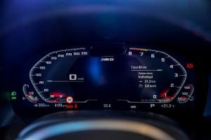 BMW M8 Gran Coupe_Live Cockpit Professional_Digital Instrument Cluster