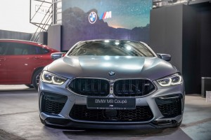 BMW M8 Coupe_Front_Grille