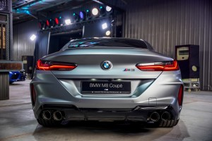 BMW M8 Coupe_Rear_Tail Lights