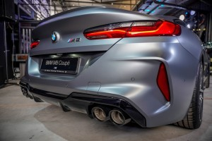 BMW M8 Coupe_Tail Light_Muffler