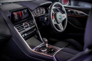 BMW M8 Coupe_Cockpit_Centre Console