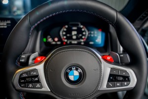 BMW M8 Coupe_Steering Wheel_Live Cockpit Professional_Instrument Display