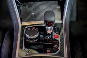 BMW M8 Coupe_Centre Console_Gear Lever_iDrive