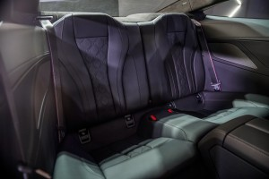 BMW M8 Coupe_Rear Seats