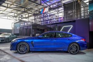 BMW M8 Gran Coupe_Side View