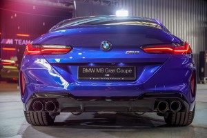 BMW M8 Gran Coupe_Rear_Exhaust_Tail Lights