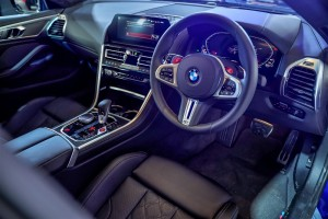 BMW M8 Gran Coupe_Steering Wheel_Cockpit