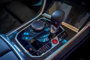BMW M8 Gran Coupe_Centre Console_iDrive Controller_Gear Lever