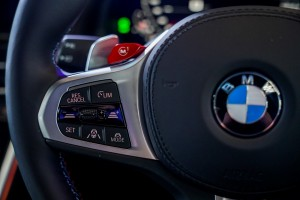 BMW M8 Gran Coupe_Steering Wheel_M1 Button