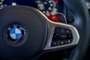 BMW M8 Gran Coupe_Steering Wheel_M2 Button_Shift Paddle