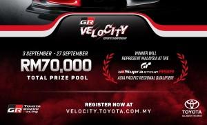 Toyota GR Velocity Esports Championship 2020