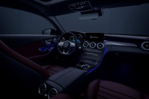 Mercedes-Benz C200 Coupe AMG Line_Cockpit_Cabin_Ambient Lighting