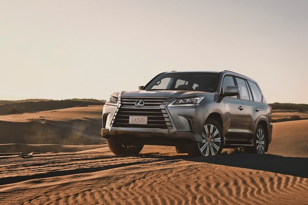 Lexus LX 570_Off Road