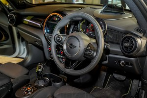 The New All-Electric MINI Cooper S_Cockpit_Steering Wheel
