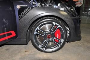 MINI John Cooper Works GP_CFRP Wheel Arch Panel_JCW Brake Caliper_Forged Rims