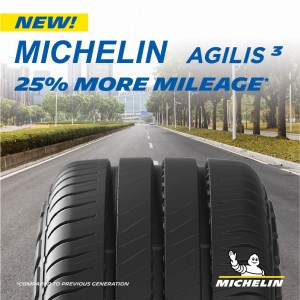 Michelin Agilis 3_25% More Mileage