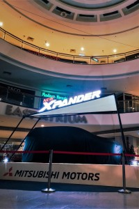 Mitsubishi Xpander Teaser Display