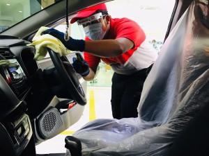 Perodua Tweckbot_Technician_Vehicle Sanitisation
