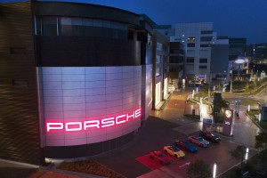 Porsche Centre Ara Damansara_Night
