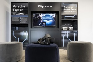 Porsche Taycan_Virtual Reality Experience_VR