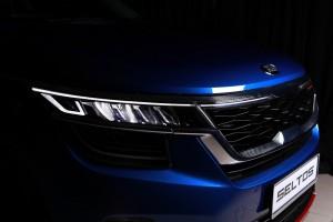 Kia Seltos_Crown Jewel LED Headlight_Tiger Nose Grille
