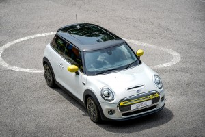 MINI Electric First Edition_White Silver_Top