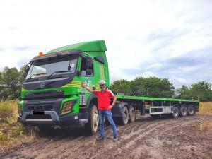 Air-Marine Cargo Agency_Volvo FMX Truck