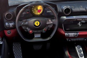 Ferrari Portofino M_Steering Wheel_Centre Console_Interior