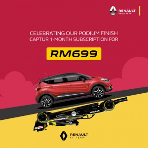 Renault Subscription_1-Month Trial_RM699_Promo