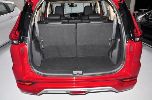 Mitsubishi XPANDER_3rd Row Seats Up_Boot Space_Cargo