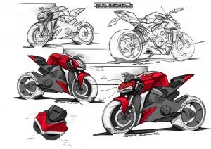 Ducati_Streetfighter V4 Sketch