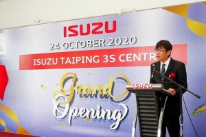 Isuzu Malaysia_CEO_Koji Nakamura_Official Opening_GB Motors Taiping