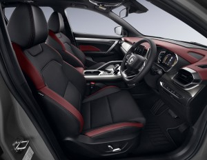 Proton X50_1.5 Flagship_Leatherette Seat Upholstery