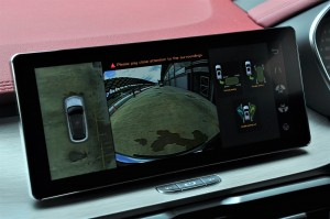 Proton X50_1.5 Flagship_Self Parking And Unparking_Screen Display