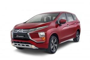 Mitsubishi XPANDER_Red_Front