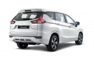 Mitsubishi XPANDER_White_Rear