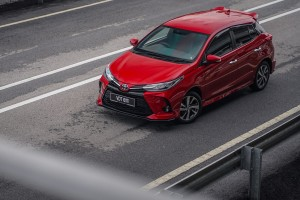 Toyota Yaris_Top View