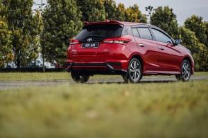 Toyota Yaris_Facelift_Rear