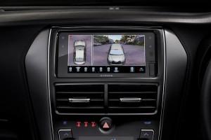Toyota Yaris_3D Panaromic View Monitor (PVM)