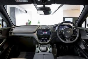 Aston Martin DBX_Dashboard_Steering_Centre Console