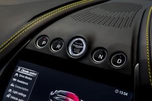 Aston Martin DBX_Start Button_Gear Selector