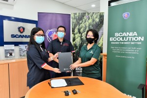 Scania Ecolution Partnership_Mansang Logistics_Sarawak
