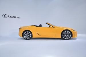 Lexus LC 500 Convertible_Side