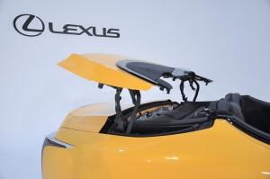 Lexus LC 500 Convertible_Folding Roof 1