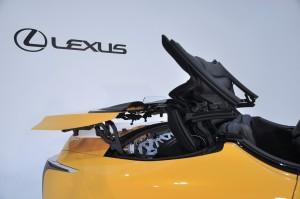 Lexus LC 500 Convertible_Folding Roof 2