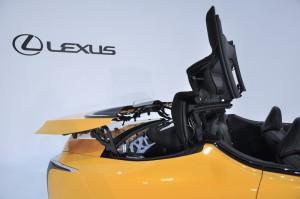 Lexus LC 500 Convertible_Folding Roof 3