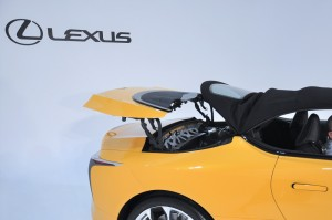 Lexus LC 500 Convertible_Folding Roof 4
