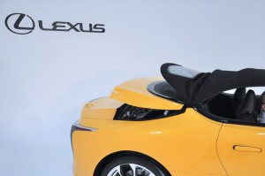 Lexus LC 500 Convertible_Folding Roof 5