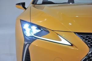 Lexus LC 500 Convertible_3 Beam LED Projector Headlight_Daytime Running Light