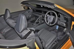 Lexus LC 500 Convertible_Cabin_Steering